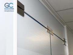 Фурнитура для стеклянных перегородок и дверей