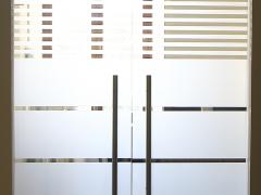 Фурнитура для распашной стеклянной двери