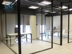 Фурнитура стеклянных дверей и перегородок для офисов и квартир