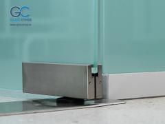 Дверные петли для стеклянных дверей с доводчиком