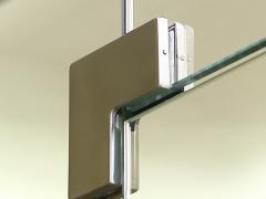 Петли для стеклянных межкомнатных дверей