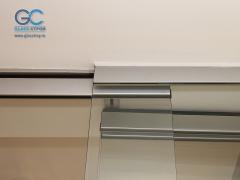 Фурнитура для раздвижных дверей с верхним ходовым элементом