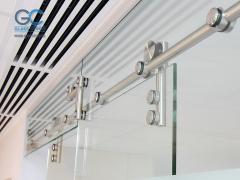 Фурнитура для стеклянных дверей и перегородок