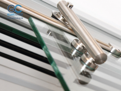 Механизм для стеклянных раздвижных дверей