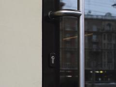 Ручки для стеклянных дверей из нержавейки