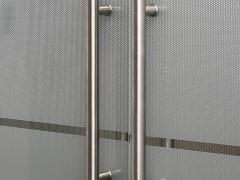 Прямые ручки для стеклянных дверей