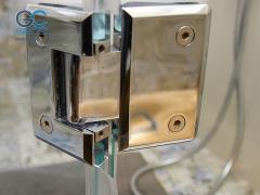 Петли для стеклянных дверей в душ стекло стекло