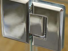 Петли для душевой кабины на стеклянную дверь