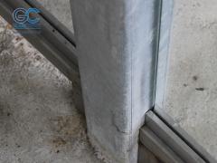 Профиль для стекла алюминиевый