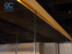 Зажимной профиль для стекла длина 3 м